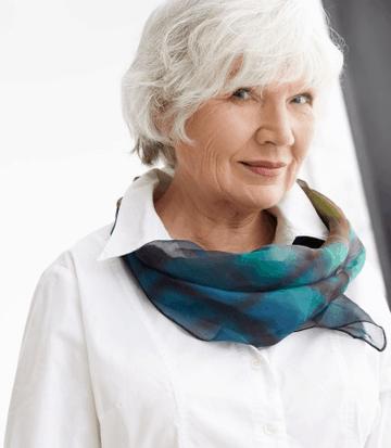 usuniesz zmarszczki stosując visage ideal który wytwarza kolagen odbudowuje skórę